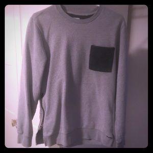 On the byas crewneck sweatshirt
